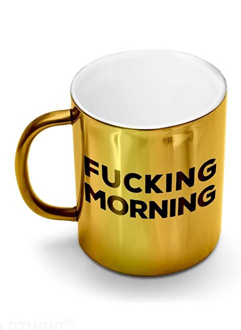Smaller Studio Fucking Morning Mug Altın